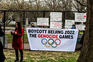 民眾發起要求拜登政府抵制2022北京冬奧會運動