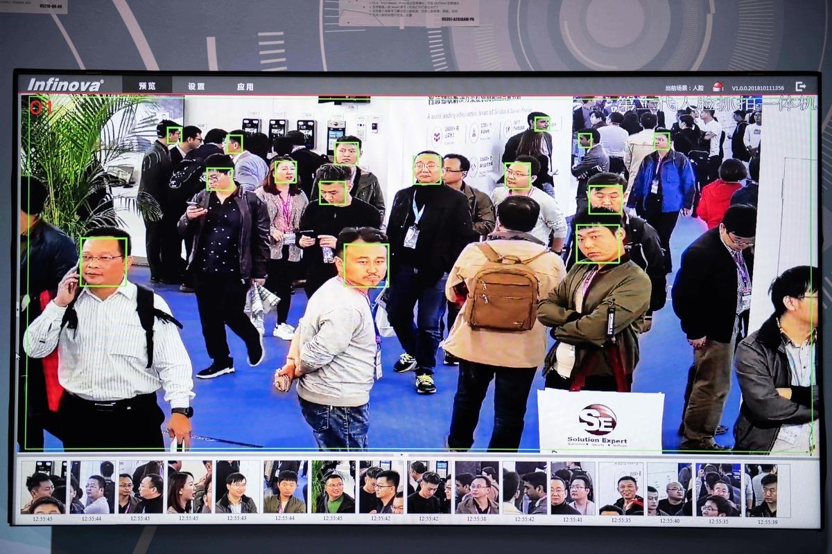 中共推出「社會信用評分」制度,監控14億中國人。(NICOLAS ASFOURI/AFP/Getty Images)
