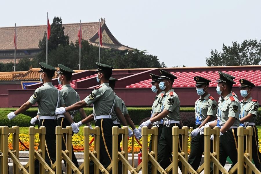 中共為黨慶限制交通 北京多條地鐵停運
