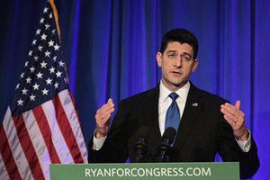 瑞安獲美共和黨提名 可望連任衆議院議長