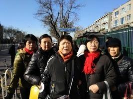 平安夜 各地訪民北京信訪局門口大集訪