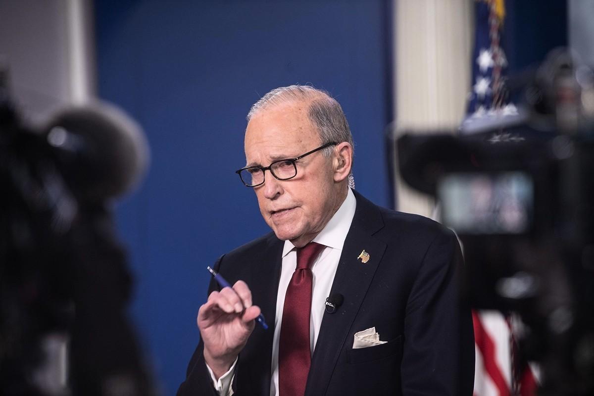 白宮首席經濟顧問庫德洛5月26日表示,中共正在犯一個大錯誤。(Nicholas Kamm / AFP)
