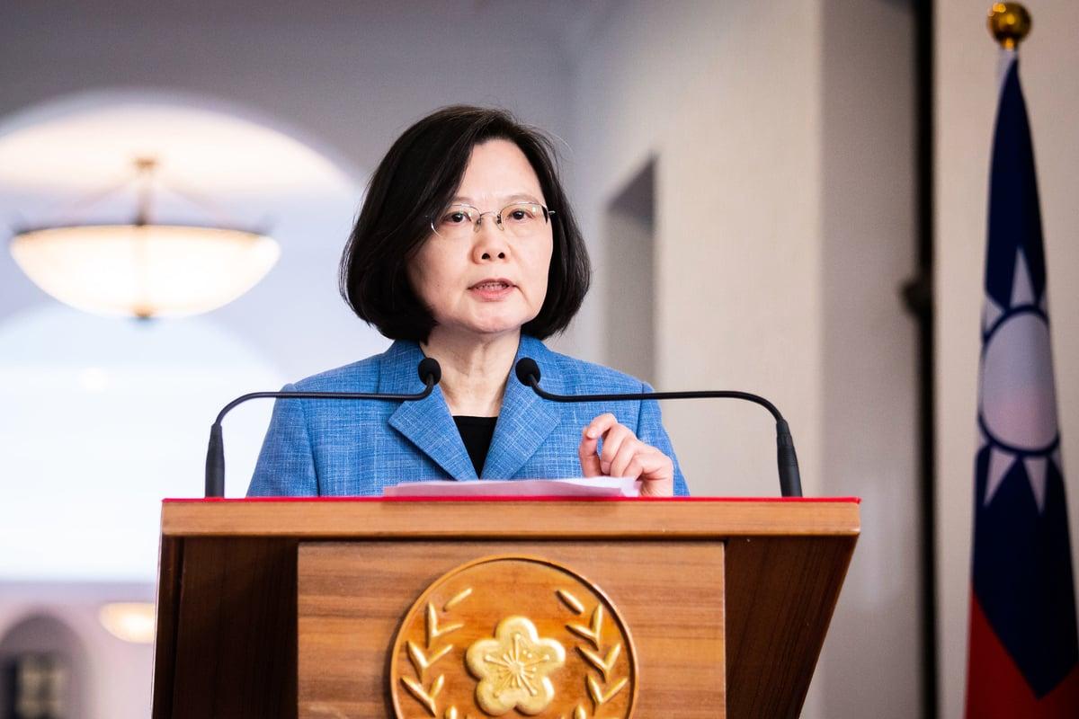 香港反送中運動越來越激烈,台灣民間也出現「撐香港」物資募集。上個月中華民國總統蔡英文表示,給在台灣尋求庇護的香港反送中抗議者提供人道援助。資料照。(陳柏州)