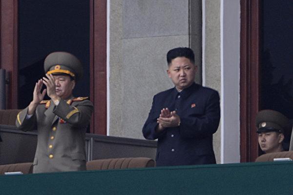 示意圖,圖為北韓領導人金正恩出席金日成誕辰100周年大會。(PEDRO UGARTE/AFP)