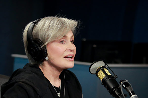 前CBS主持人莎朗‧奧斯本(Sharon Osbourne)。(Rich Fury/Getty Images)