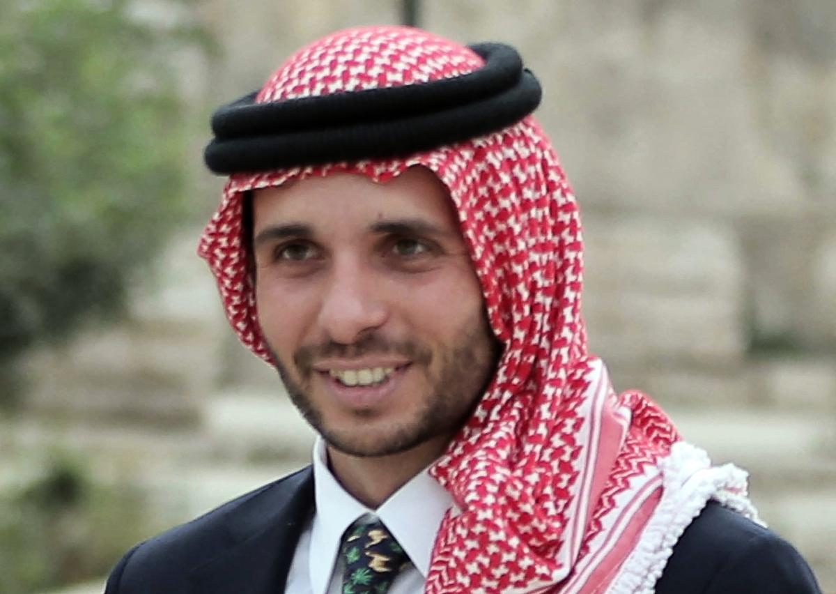 約旦前王儲哈姆扎·本·侯賽因(Hamzah bin Hussein)。(KHALIL MAZRAAWI/AFP)