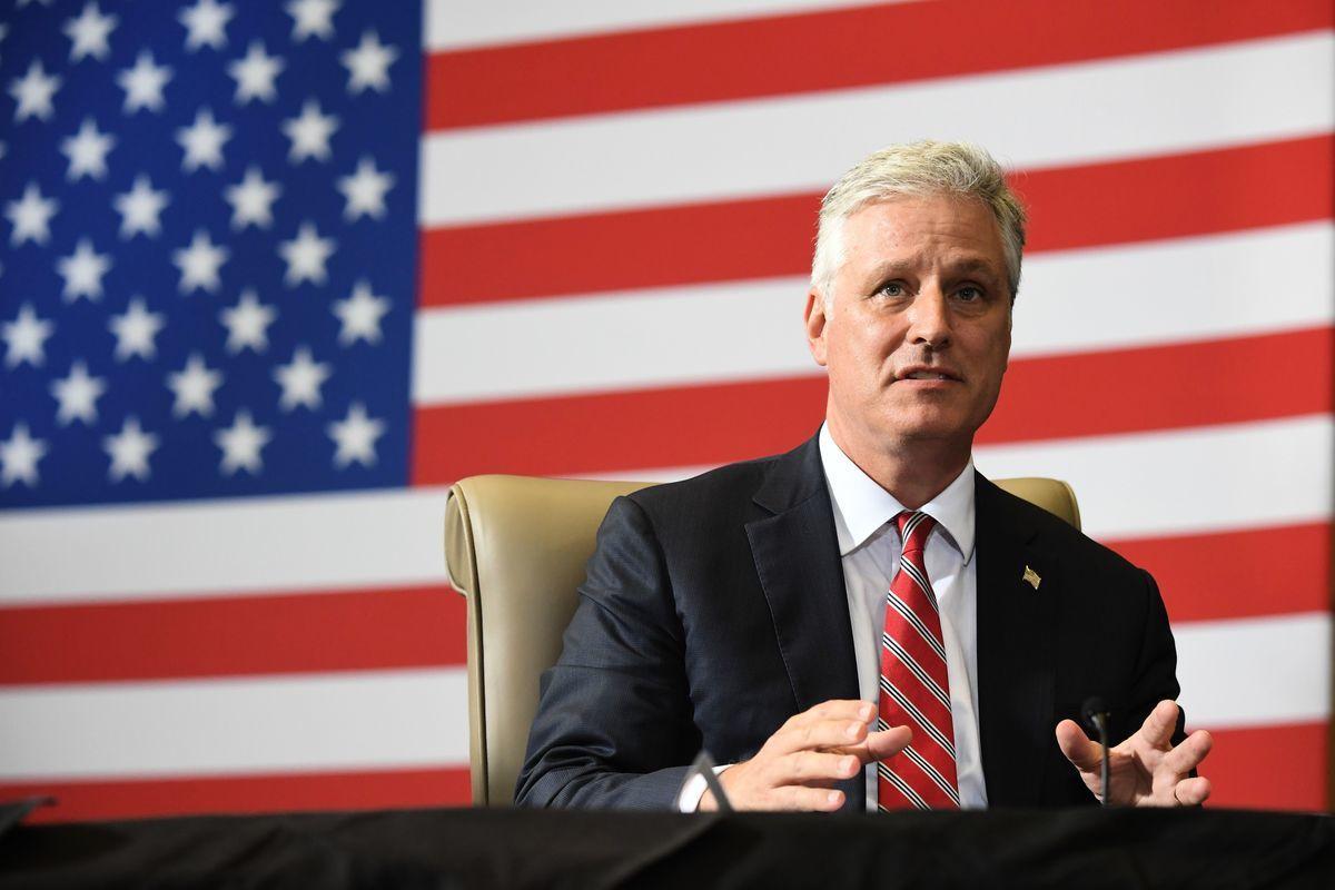 美國國家安全顧問奧布萊恩(Robert O'Brien)表示,特朗普總統成功地建立了應對中共威脅的新國際共識,在這方面所取得的成就是以往歷屆政府都沒有做到的。(SAUL LOEB/AFP via Getty Images)