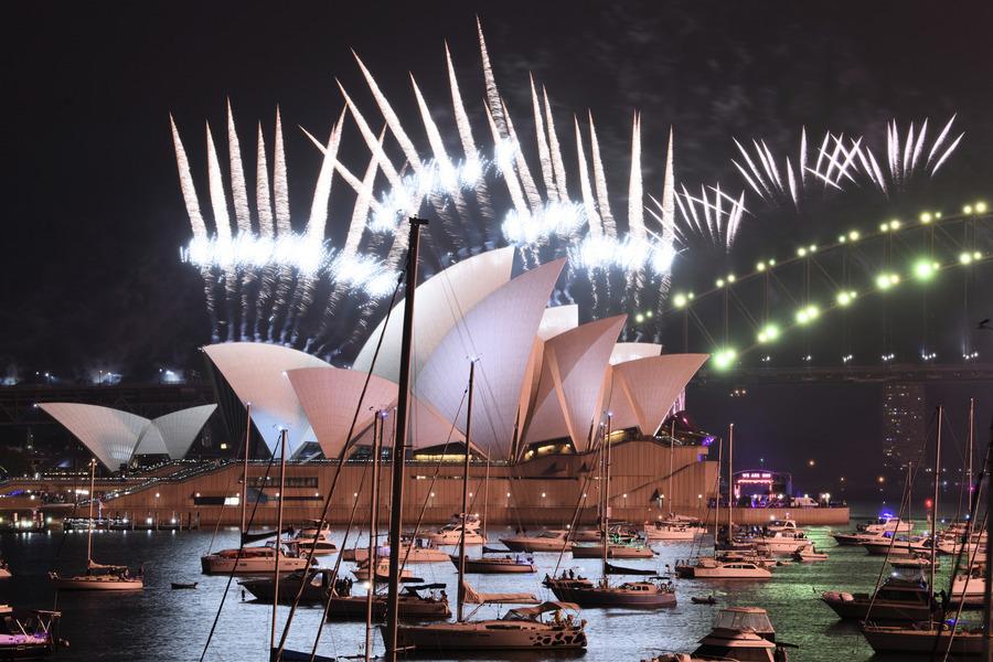 【組圖】告別2020年 太平洋島國率先迎新年