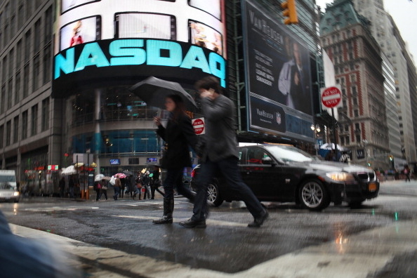 紐約時代廣場NASDAQ交易所(Getty Images)