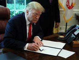 特朗普:伊朗若攻擊將遭勢不可擋的武力回應
