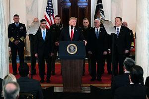 伊朗導彈襲擊是演戲?美軍與聯軍無傷亡