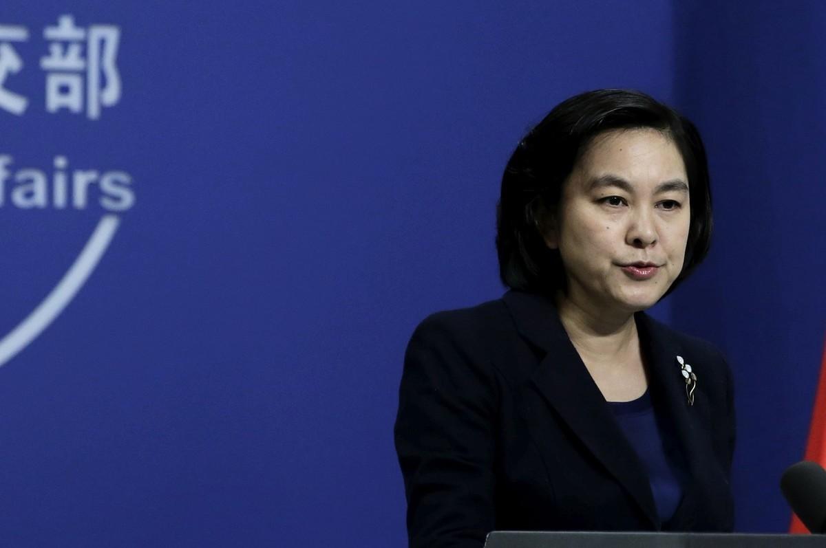 中共外交部發言人華春瑩曾入列被網民評選的「2013年度中國人渣榜」。 (大紀元資料室)