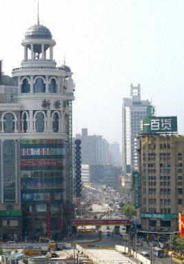 上海市外商投資重地。(法新社圖片)