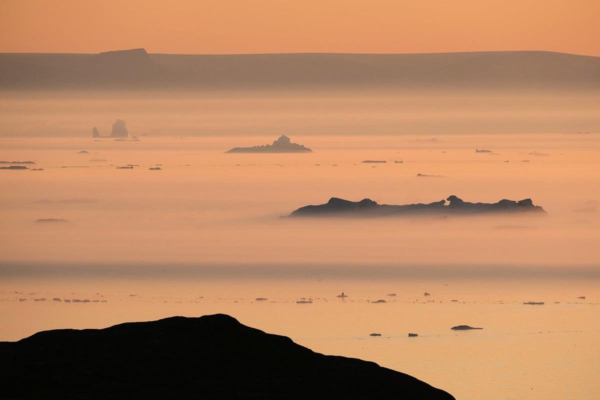 特朗普總統有意購買格陵蘭島,引發熱議。圖為格陵蘭。(Sean Gallup/Getty Images)
