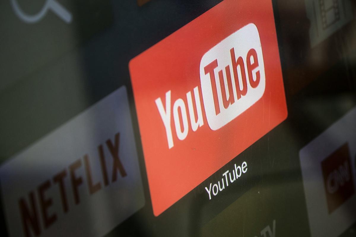 YouTube近日被發現刪除留言區的一些有關譴責中共的詞彙。(Chris McGrath/Getty Images)
