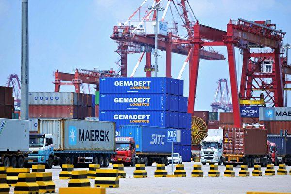 受中共肺炎疫情影響 大陸八大港口貨櫃吞吐量減少20%