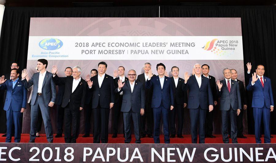 欲影響APEC公報 中共官員闖巴外交部被趕出