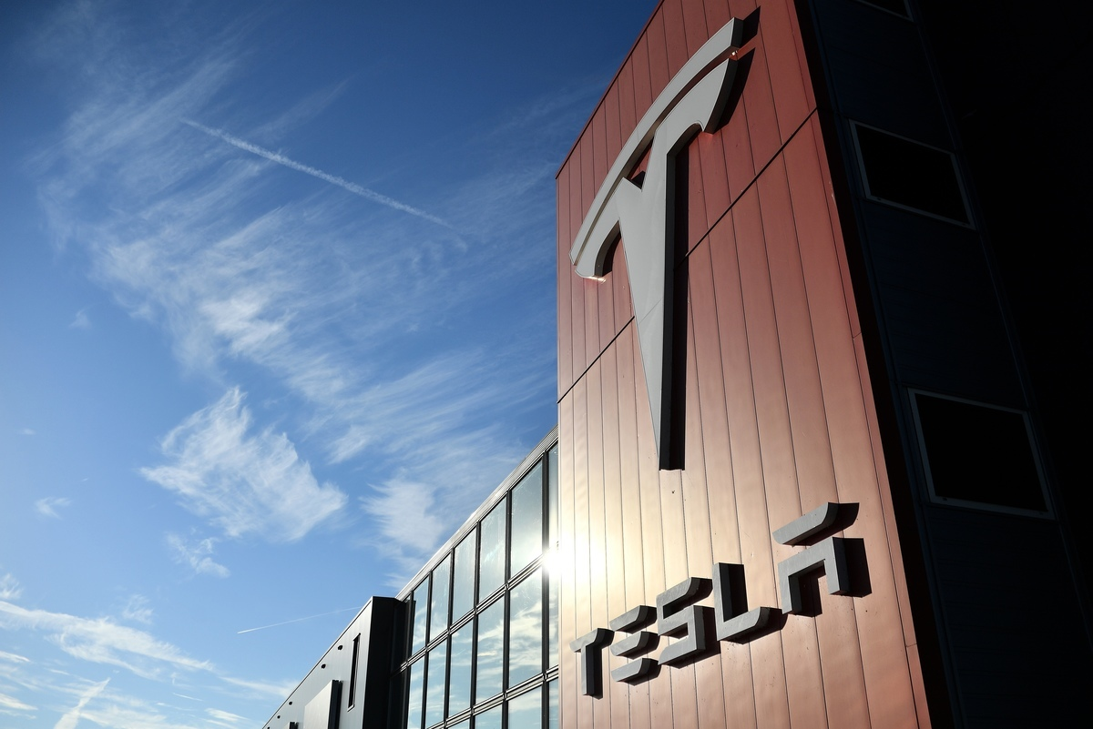 特斯拉(Tesla)上海工廠自5月1號休假後,並未在6日如期開工。圖為示意照。(AFP)