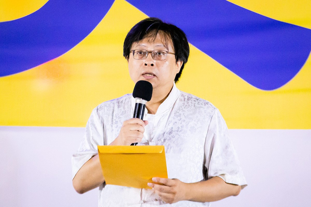 台灣中正大學傳播學系訪問學者、中國問題專家曾建元,資料照。(陳柏州/大紀元)