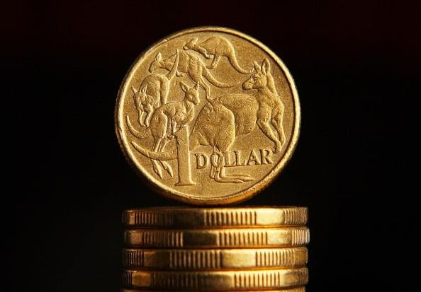 澳元在週五(澳東時間2021年4月2日)貨幣市場略強於美元。(Scott Barbour/Getty Images)