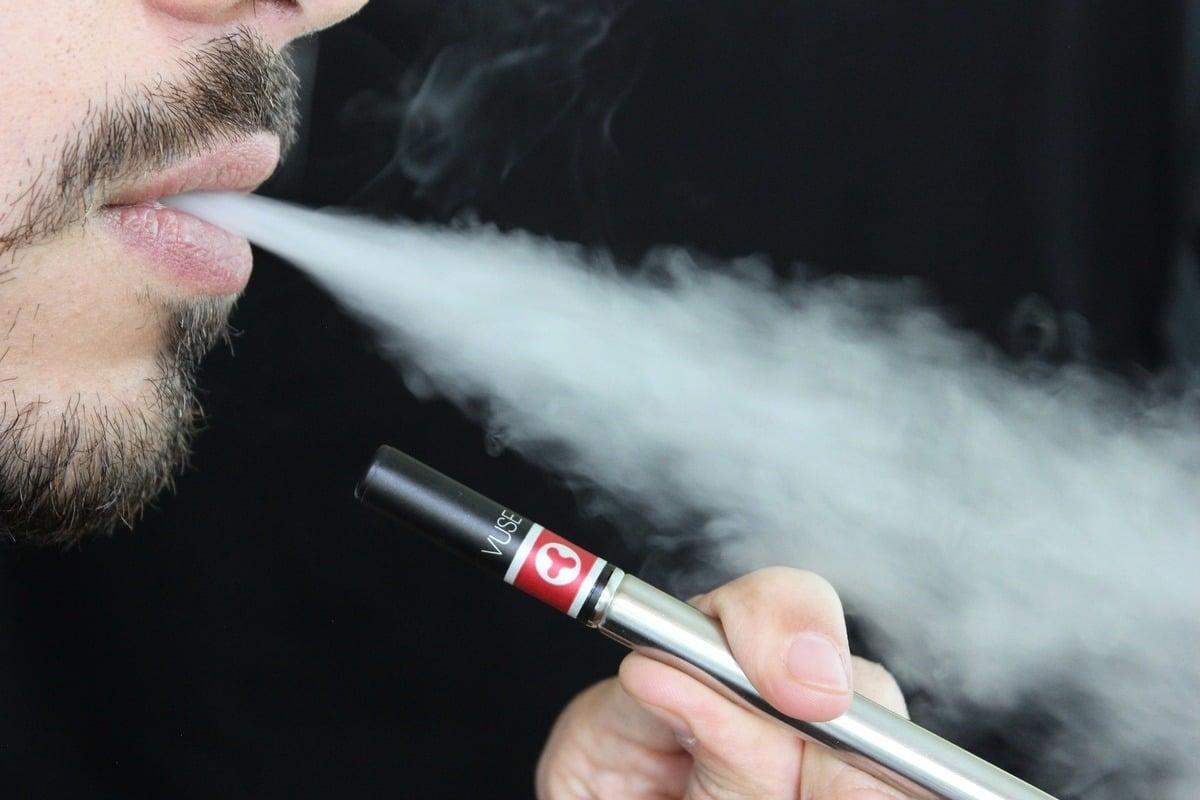 電子煙示意圖。(Pixabay)