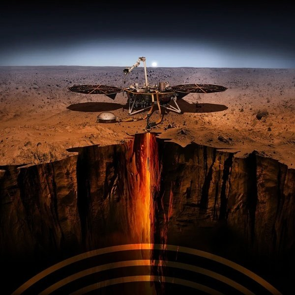 NASA洞察號首探火星內部 發現哪些驚奇?