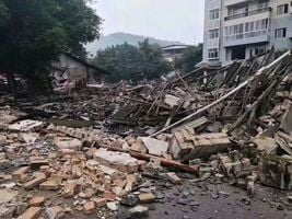 四川長寧地震損失慘重 約20人死逾200傷