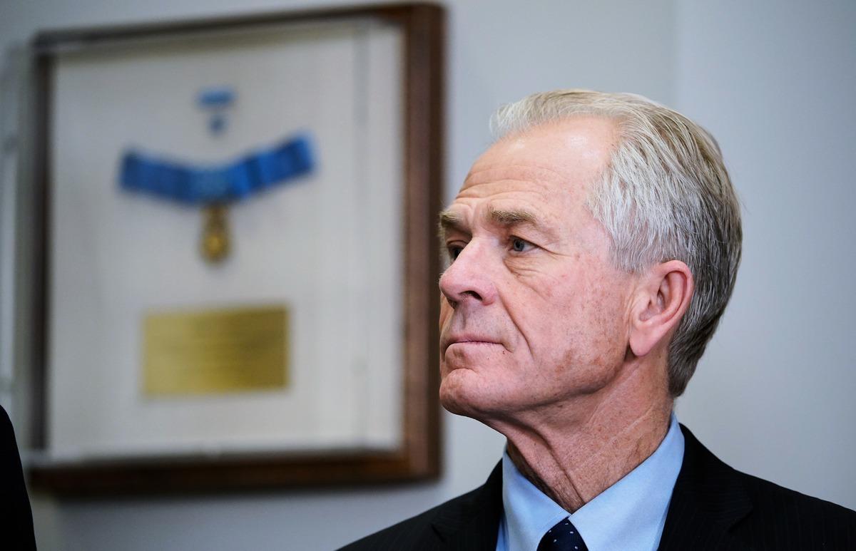 白宮顧問彼得·納瓦羅(Peter Navarro)。(AFP)