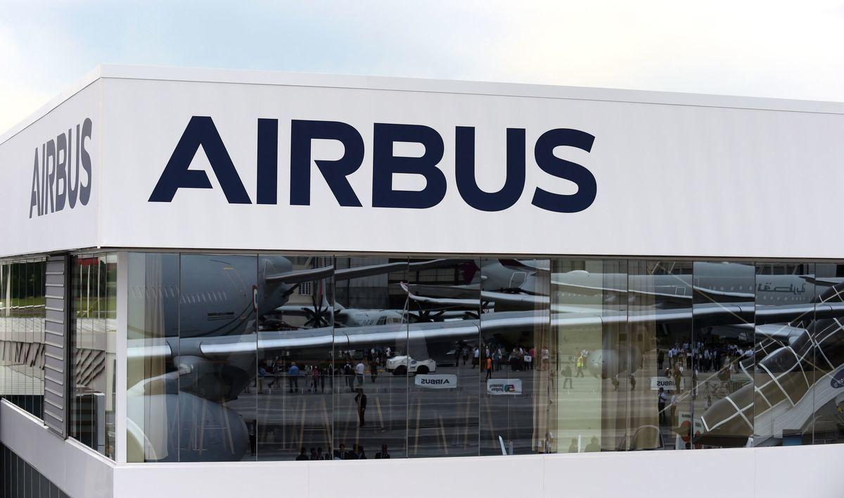 美國與歐盟間的爭端,起因於雙方對波音(Boeing)和空中巴士(Airbus)的補貼爭議。(ERIC PIERMONT/AFP/Getty Images)