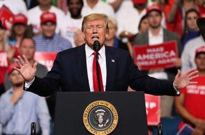 「讓美國繼續偉大」 特朗普宣佈競選連任
