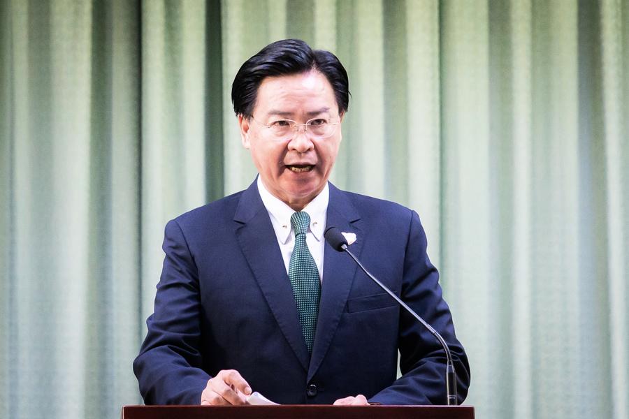 吳釗燮:台灣是阻止中共擴張的海上堡壘