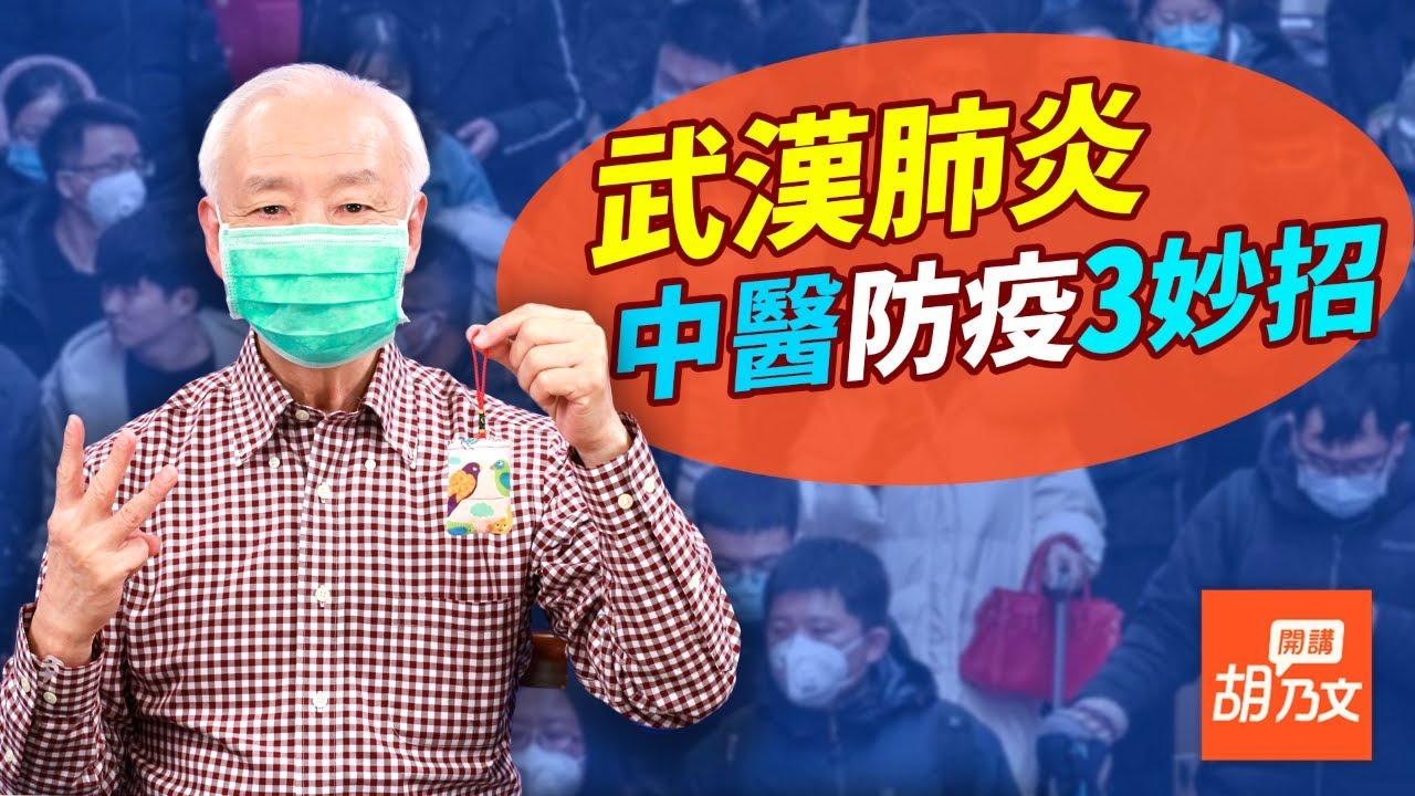 台灣著名中醫胡乃文教你如何調節自己的免疫系統,預防傳染中共肺炎。(影片截圖)