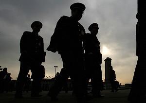 在當局「掃黑除惡」的過程中,大陸近日出現多起公安官員自殺現象。圖為示意圖。(Getty Images)