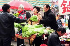 蔬果漲價不會持續? 民眾要中共說實話