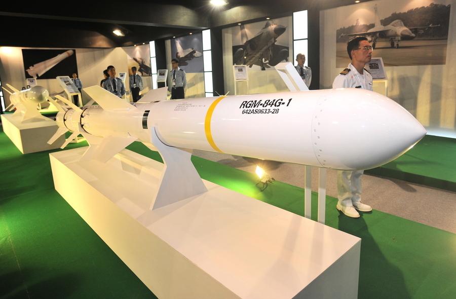 沈舟:美國售台魚叉導彈 威懾中共艦隊