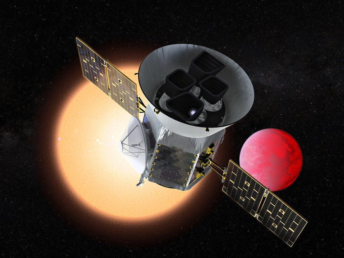 美國是太空態勢感知領域的領頭羊,正在打造天地一體的太空監視網絡。圖為美國太空總署(NASA)發射的探索衛星。(AFP)