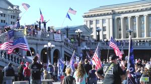 華盛頓11月14日挺特大集會 特朗普或「順道問候」