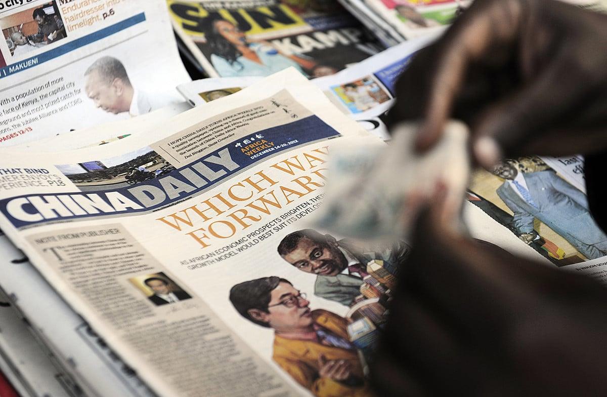 中共官方用財政資金支持國家媒體海外增粉,加上市場公開的賣粉渠道,兩者一拍而合,打造了數量龐大的海外臉書、推特粉絲團。(TONY KARUMBA/AFP/Getty Images)