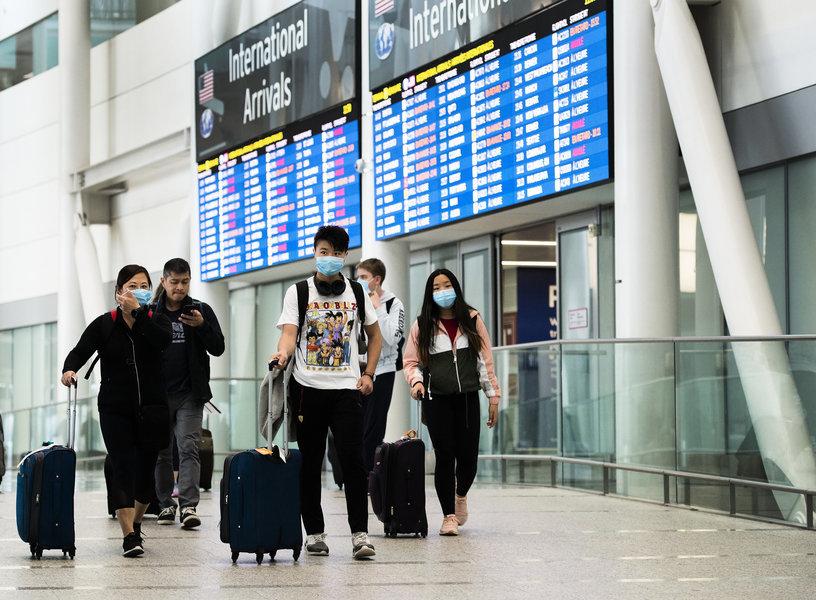 兩周內 飛抵加拿大旅客上百人檢測呈陽性
