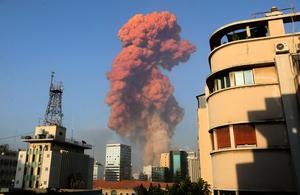 黎巴嫩首都爆炸 蘑菇雲騰起 數千死傷