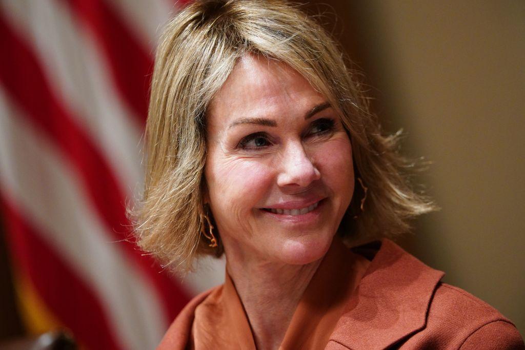 美國駐聯合國大使大使凱利‧克拉夫特(Kelly Craft)。(MANDEL NGAN/AFP via Getty Images)