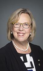 加拿大綠黨國會議員梅(Elizabeth May)