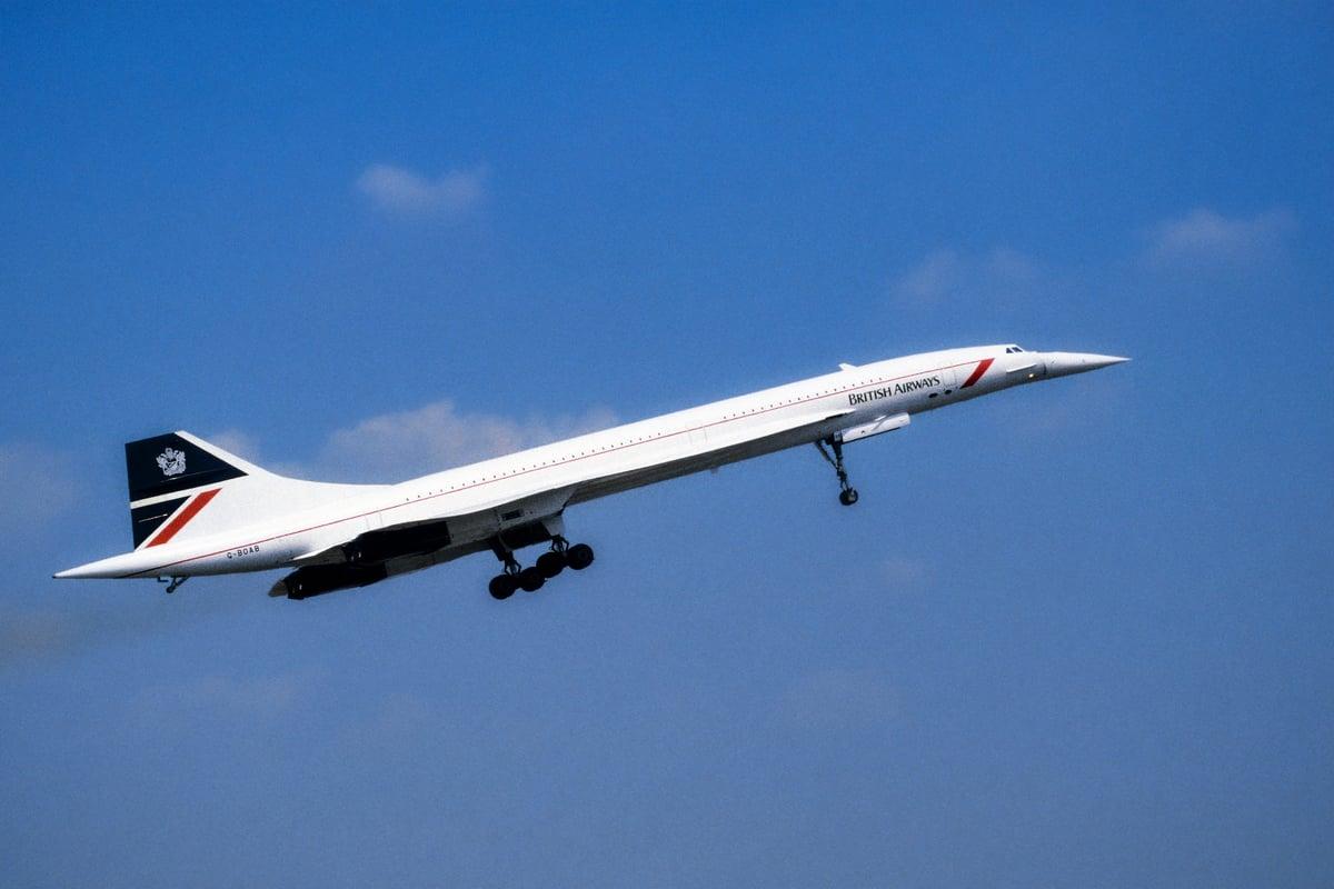 第一代超音速飛機協和。(Shutterstock)