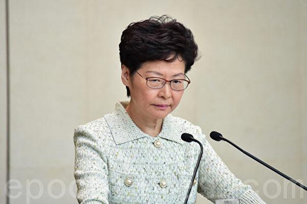 香港中文大學亞太研究所公佈12月港府及特首民望民意調查結果。林鄭月娥最新評分較去年同期大跌30.5分。(郭威利/大紀元)
