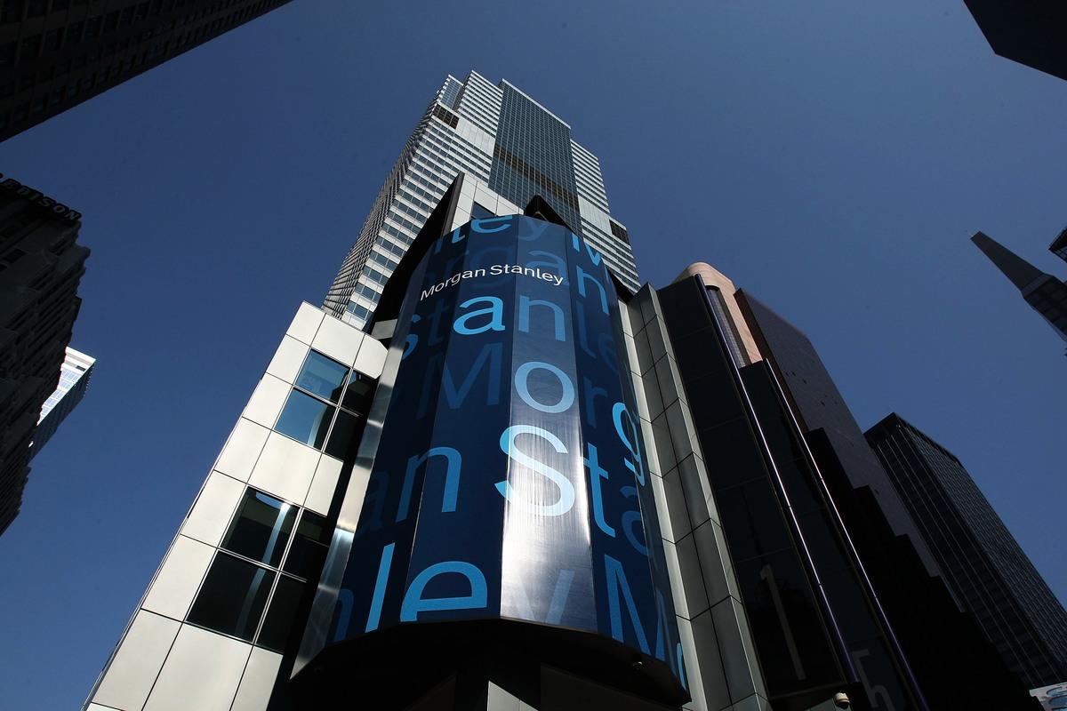 摩根士丹利位於紐約的總部大樓。(Mario Tama/Getty Images)