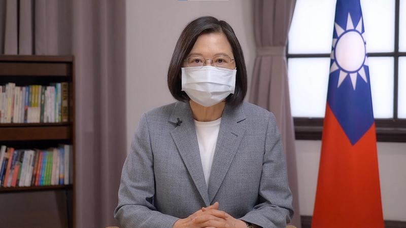 蔡英文:台灣接軌國際 需全球僑胞及台商支持