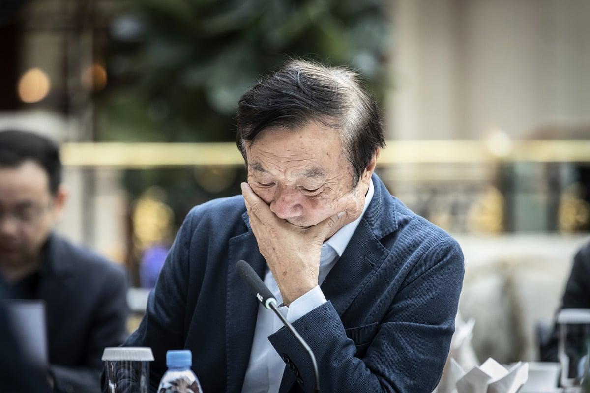 1月15日,華為創始人兼首席執行官任正非在華為公司總部接受媒體採訪。作為電信巨頭的任正非打破了長達數年的沉默接受採訪,表明華為正面臨著三十多年來最大的危機。(大紀元資料室)