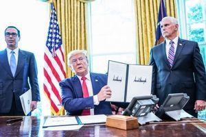 特朗普簽行政令 嚴厲制裁伊朗領袖