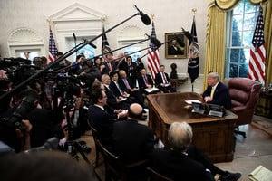 特朗普:1月15日我在白宮簽第一階段協議