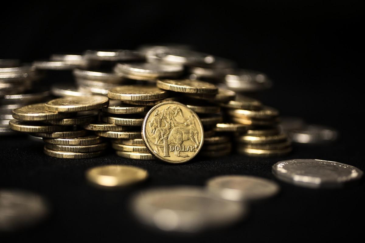 圖為1澳元硬幣。(Dominic Lorrimer/Getty Images)
